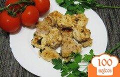 Фото рецепта: «Шашлык в маринаде из киви»