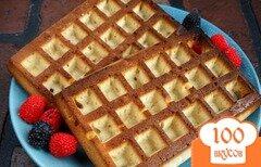 Фото рецепта: «Бисквитные вафли»