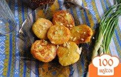 Фото рецепта: «Картофельные лежни с чесноком»