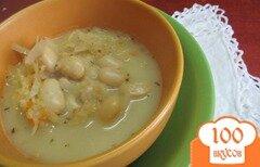 Фото рецепта: «Низкокалорийный суп из овощей на курином бульоне»