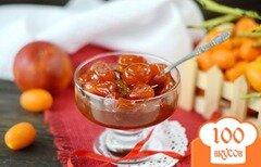 Фото рецепта: «Кумкваты в сиропе из сангвини»