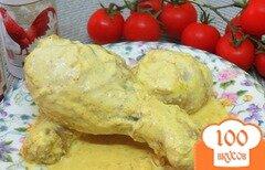 Фото рецепта: «Куриные голени в соусе с куркумой»