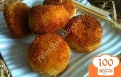 Фото рецепта: «Сыр в рисовой шубе»