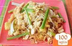 Фото рецепта: «Яичная лапша по-тайски»