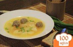Фото рецепта: «Картофельный суп с фрикадельками»