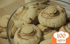 Фото рецепта: «Печенье Шампиньоны»