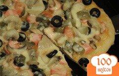 Фото рецепта: «Пицца-солянка»