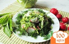Фото рецепта: «Салат - микс из весенних овощей»