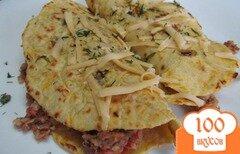 Фото рецепта: «Буррито с фаршем и фасолью»