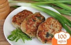 Фото рецепта: «Мясные котлеты с луком и крапивой»