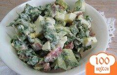 Фото рецепта: «Салат с крапивой»