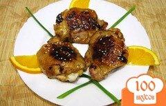 Фото рецепта: «Куриные бедра в апельсиновом маринаде»