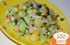 Фото рецепта: «Картофельный салат со свиным балыком»