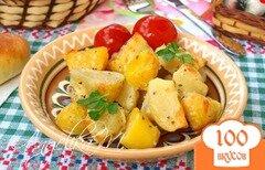 Фото рецепта: «Запечённая картошка без масла»