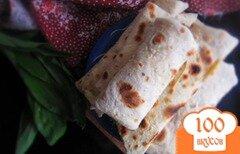 Фото рецепта: «Домашний лаваш с начинкой»