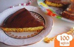 Фото рецепта: «Шоколадный пирог с шоколадной помадкой»