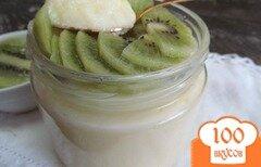 Фото рецепта: «Крем-десерт с киви»