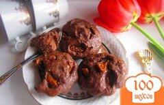 Фото рецепта: «Шоколадная творожная запеканка с инжиром»