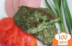 Фото рецепта: «Омлет с крапивой»