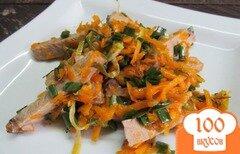 Фото рецепта: «Салат из тыквы и мяса»