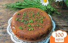 Фото рецепта: «Заливной пирог с луком»