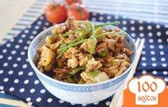 Фото рецепта: «Рис с яйцом»