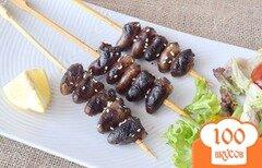 Фото рецепта: «Куриные сердечки по- китайски»