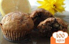 Фото рецепта: «Бананово-шоколадный кекс»