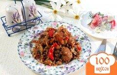 Фото рецепта: «Гречка со свининой и овощами»