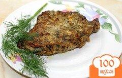 Фото рецепта: «Ароматный свиной стейк из балыка»