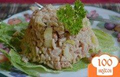 Фото рецепта: «Салат с креветками»