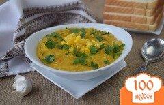 Фото рецепта: «Суп из консервированной кукурузы»