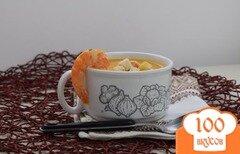 Фото рецепта: «Суп из тыквы с креветками»