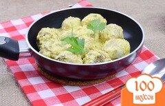 Фото рецепта: «Мясные шарики в сливочном соусе»