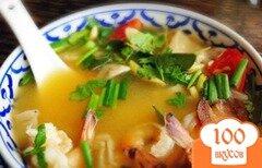 Фото рецепта: «Тайский суп из морепродуктов»