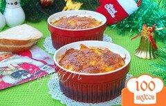 Фото рецепта: «Рисовая запеканка с куриным филе и вялеными помидорами»