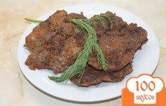 Фото рецепта: «Утиное филе в кляре и панировочных сухарях»