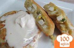 Фото рецепта: «Картофельные зразы с яйцом»