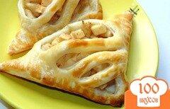 Фото рецепта: «Слойки с грушей и яблоком»