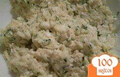 Фото рецепта: «Огуречный салат с сыром»