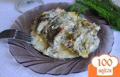 Фото рецепта: «Караси в сырно-сметанном соусе»