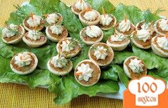 Фото рецепта: «Тарталетки с овощами и сыром»