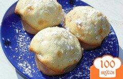 Фото рецепта: «Кексы с грушей и яблоком»