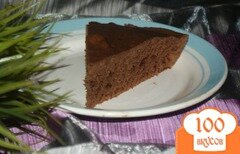 Фото рецепта: «Мокрый шоколадный манник»