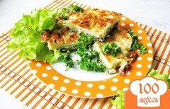 Фото рецепта: «Запеканка из молодой капусты и черемши»