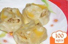 Фото рецепта: «Манты с рубленным мясом и картофелем»