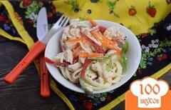 Фото рецепта: «Куриный салат с яблоком»