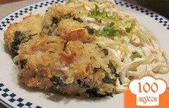 Фото рецепта: «Куриные грудки в сырной панировке»