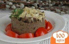 Фото рецепта: «Печеночный паштет с черносливом и вяленой вишней»