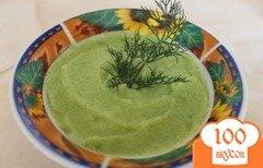 Фото рецепта: «Суп-пюре с зеленым горошком»